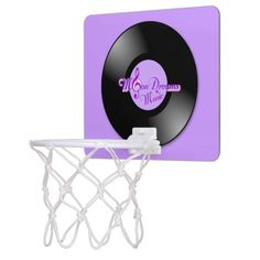 MoonDreams Music Mini BasketBall Hoop by #MoonDreamsMusic #MiniBasketBallHoop #RecRoom #GameRoom #RetroRecord