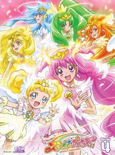 Candy y ellas transformadas de su version de princesas.