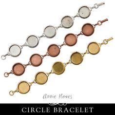 Patera Bracelet Large Circle - PBLC Nunn Design – Annie Howes