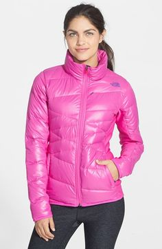 The North Face 'Hyline' Hybrid Down Jacket available at #Nordstrom