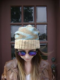 A personal favorite from my Etsy shop https://www.etsy.com/listing/239277985/hand-knit-slouchy-hat-will-fit-teens-to