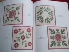 Second Silver - Rose Sampler Supreme quilt pattern book Rosemary Makhan 1999