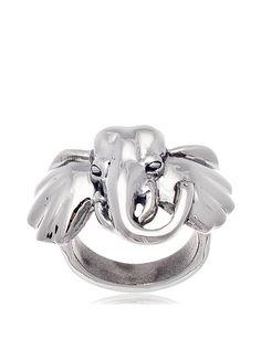 Annabella Lilly Women's Stainless Steel High Polished Elephant Ring, http://www.myhabit.com/redirect/ref=qd_sw_dp_pi_li?url=http%3A%2F%2Fwww.myhabit.com%2Fdp%2FB012SY4TPC%3F