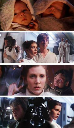 Star Wars: Luke & Leia Skywalker - The force in the family... #Jedi #Leia #LukeSkywalker