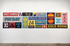 Keith Scharwath's Hand-painted Signs