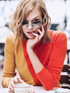 Given that Karlie has an eye for fashion, it's no surprise that her collab with Warby Parker is killer!