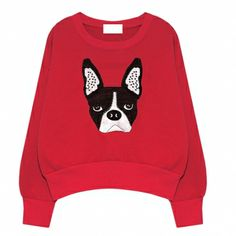$22.99 Lovely Cartoon Pattern Contrast Color Pullover Hoodies