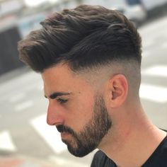Trendy Undercut Hair Ideas for Men In Are you looking for different hairstyles or new hair ideas to try? Here is the gallery of simple and classic hairstyles which continues to be a trendi. Mens Summer Hairstyles, Mens Hairstyles Fade, Cool Hairstyles For Men, Classic Hairstyles, Undercut Hairstyles, Haircuts For Men, Popular Haircuts, Undercut Hair Men, Mens Haircut Undercut
