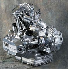 Ducati bevel drive engine