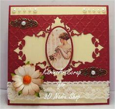 KarinsArtScrap: Vintage card