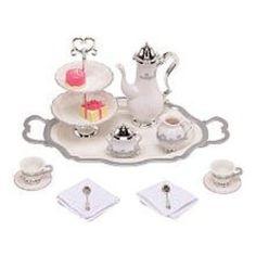 Disney Princess and Me Tea for Two Tea Set -- 15-Pc.-