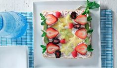 Fruit Pizza with Chilled Almond & Lentil Crust | Lentils for Every Season Volume 11 Garden to Table | Lentils.ca