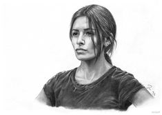 Sameen Shaw (Person of Interest) by siniart on DeviantArt