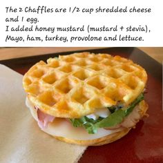 For More Great Recipes Like This One Visit The Foodie Eats Ketogenic Recipes, Keto Recipes, Cooking Recipes, Ketogenic Diet, Low Carb Bread, Low Carb Keto, Keto Bread, Waffle Maker Recipes, Eat Better
