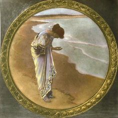 British Painter William Henry Margetson (1861-1940) ~ Artists and Art. Sea Hath It's Pearls