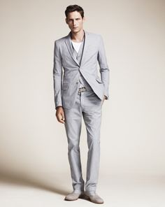 I need to start wearing suits!