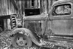 Title  Dodge In The Country   Artist  Dan Sproul   Medium  Photograph - Photograph-digital