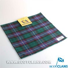 Clan Russell Tartan Handkerchief