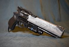 Destiny Hawkmoon hand cannon revolver unfinished 3d print kit