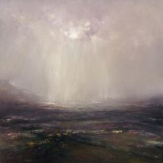 Falling light, painting no. 3. Oil on canvas, 90 x 90 cm. SOLD