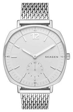 Skagen 'Rungsted' Mesh Strap Watch, 34mm