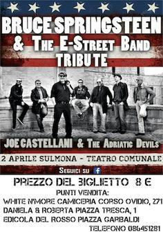 Concerto di  Joe Castellani & The Adriatic Devils a Sulmona