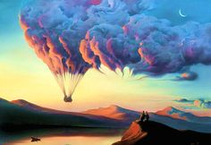 My favourite artist, I dream of owning one of his artworks... Surrealist, Vladimir Kush #art