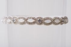 The Hayley wedding garter, available from www.lagartier.com