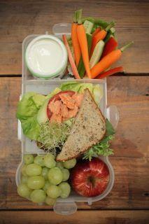 Healthy Lunch Box #gladinspiredlunches