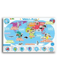 Take a look at this American Educational Products World Map Magnetic Wall Decal Set on zulily today!