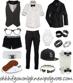 """Black and white"" by ohhhifyouonlyknew on Polyvore"