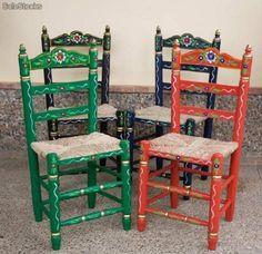 sillas de enea  sevillanas.