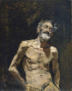 Autor Fortuny Marsal, Mariano Título Viejo desnudo al sol Cronología Hacia 1871 Técnica Óleo