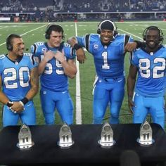 Presenting the 2015 Phil Simm's All-Iron Award Winners: and Panthers Football Team, Carolina Panthers Football, Football Names, Football Awards, Football Season, Watch Football, Carolina Panthers Luke Kuechly, Fantasy Football App, Phil Simms