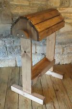 Wooden Saddle stand handmade with tray
