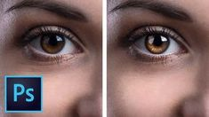 Create Amazing Details in the Eyes with Photoshop! - YouTube