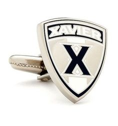 Xavier Musketeers Cufflinks - http://www.cincyshop.net/cincinnati-sports/xavier-university/xavier-musketeers-cufflinks/
