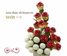 Enter to win a FREE delicious arrangement on gardeniasfire.com/blog