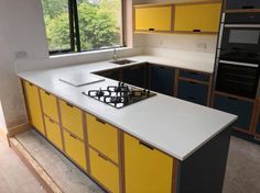 Sheffield Solid Surfaces create corian solid surface, quartz & granite kitchen worktops, built with passion, quality and design integrity. Kitchen Worktop, Granite Kitchen, Kitchen Sink, Kitchen Decor, Kitchen Design, Kitchen Cabinets, Corian Worktops, Corian Solid Surface, Sheffield