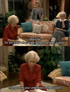 I think this might be my favorite quote from the Golden Girls