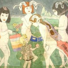 """If you have not heard of Henry Darger, please look him up an see """"In the Realms of the Unreal: The Mystery of Henry Darger"""""""