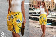 5 Summer Lovin' Skirts under $50 | How Does She...This is my sis! Comment on How does she if you love this!