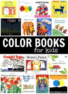These color books for kids are PERFECT for sneaking in some color learning, even with reluctant learners!