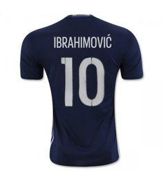 Sverige 2016 Ibrahimovic 10 Bortatröja Kortärmad Manchester United, Sports, Tops, Hs Sports, Man United, Sport