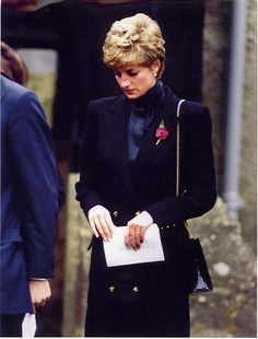 Diana attended the funeral of her friend Laura Lonsdale's son Louis, who sadly passed away at the age of only 11 months