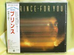CD/Japan- PRINCE For You w/OBI RARE EARLY 1988 20P2-2001 WARNER-PIONEER 2000-yen #Funk