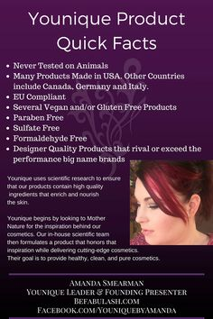Younique Product Quick Facts