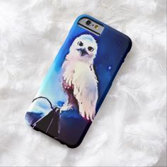 Snowy Owl Airbrush Art iPhone 6 Case by BOLO Designs.