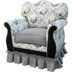 Nursery Necessities Gliders Chairs Black Toile Adult Empire Glider at PoshTots Interior Design Guide, Glider Chair, Baby Furniture, Furniture Redo, Furniture Ideas, Bedroom Colors, Slipcovers, Home Deco, Blue Chairs