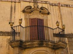 This doorway is in Sciacca, Sicily.